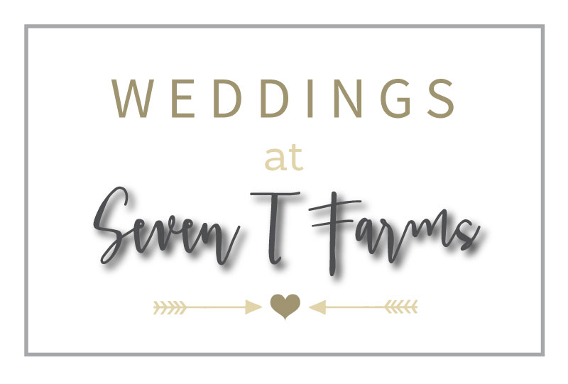 Weddings at Seven T Farms