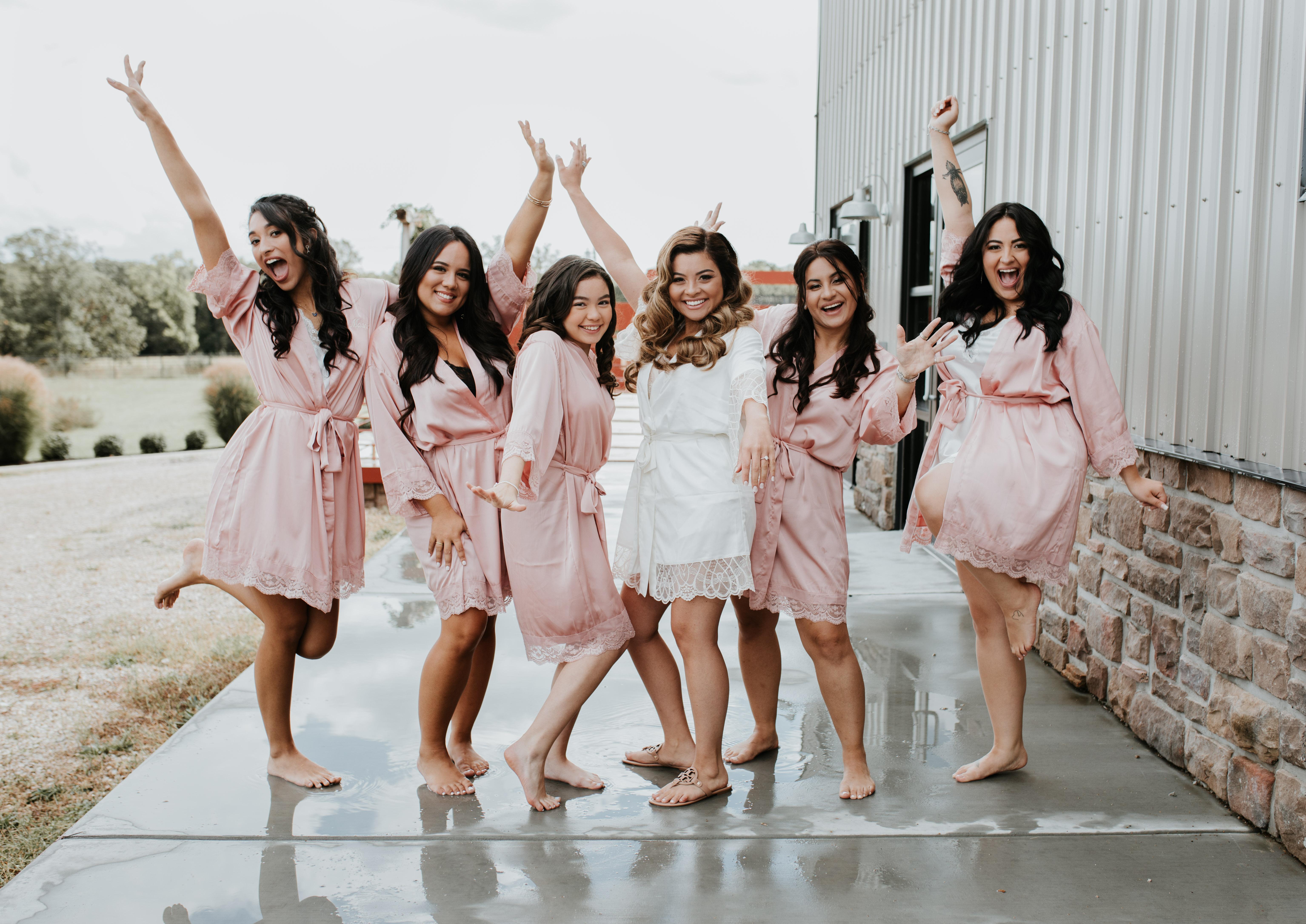 Happy Bridesmaids - Photo by Astrid Johana Photography